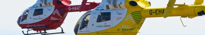 Essex Air Ambulance Case Study Banner